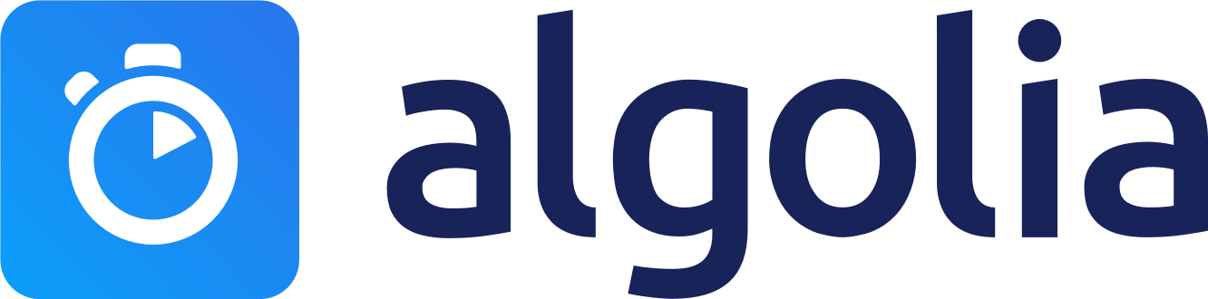 Algolia search logo